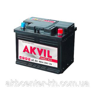 Авмобильный аккумулятор AKVIL ENERGY PLUS 6СТ- 75А3 570А R