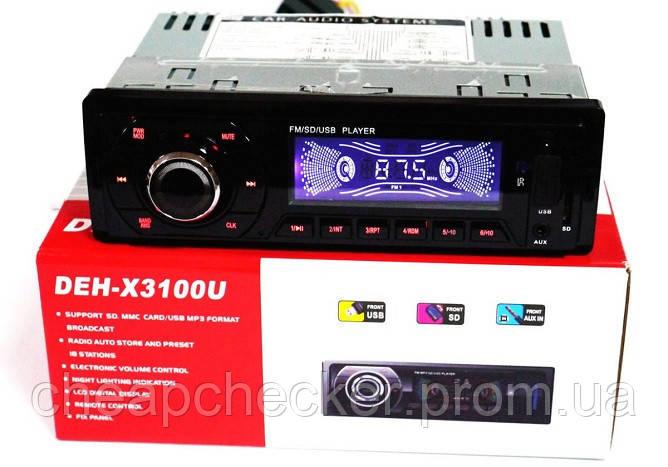 Автомагнитола MP3 с Евро Разъёмом DEH X 3100 U