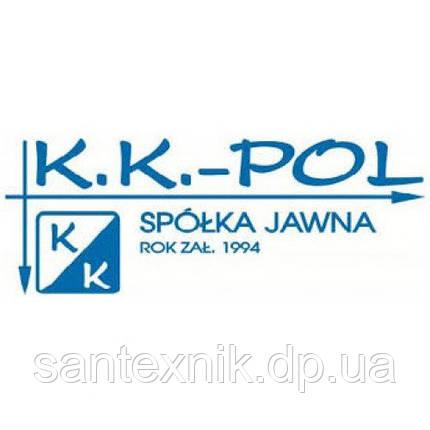 Арматура для слива KK POL (Польша)-однокнопочная, фото 2