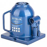 Домкрат гидравлический бутылочный телескопический 10 т h подъема 170–430 мм STELS 51119, фото 1