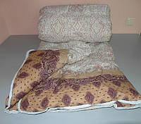 Ковдра двоспальне ,наповнювач овчина а тканина поліестр, фото 1