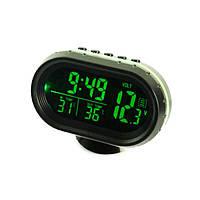 Автомобильные Электронные Часы VST-7009V Термометр, фото 1