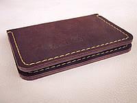 Органайзер портмоне, клатч, гаманець для документів Weal, натуральна шкіра, ручна робота, фото 1