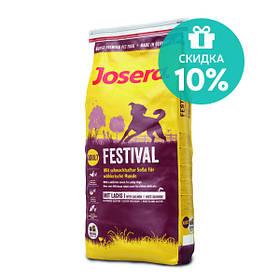 JOSERA Festival полноценный гипоаллергенный корм для собак, 15 кг