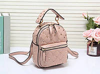 Женский рюкзак брендовый Valentino Валентино эко-кожа дорогой Китай розовый, фото 1