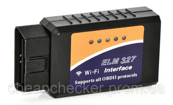 Адаптер Сканер OBD 2 ELM 327 Wi Fi