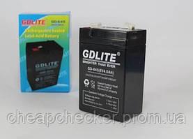 Аккумуляторная Батарея GD 645 6 V 4 А