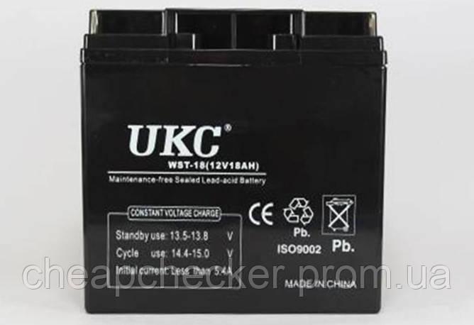 Аккумуляторная Батарея UKC 12 V 18 A