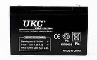 Аккумуляторная Батарея UKC 6 V 12 А, фото 1