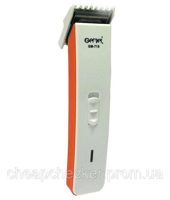 Аккумуляторная Машинка для Стрижки Волос Триммер Gemei GM 715 am