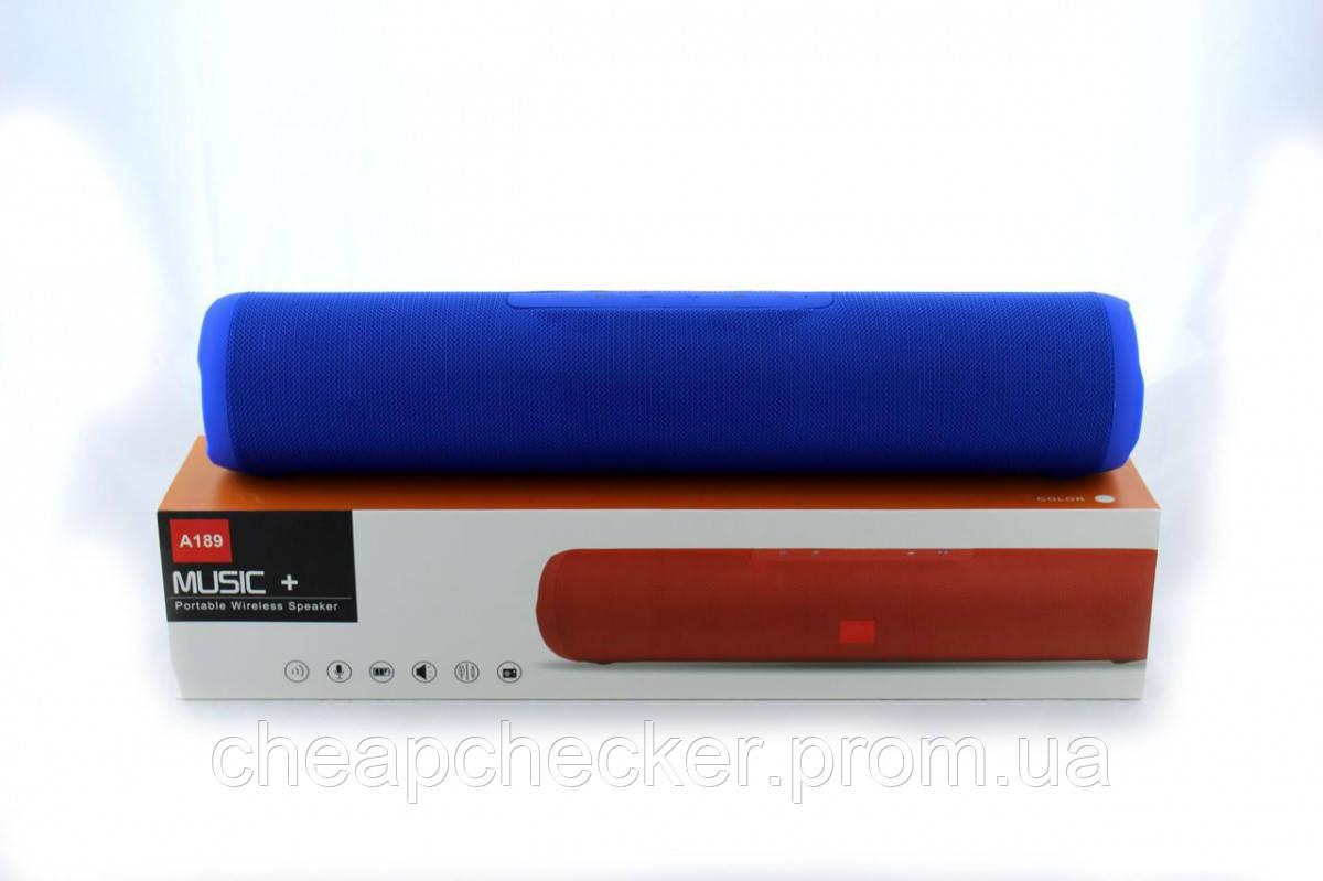 Аккумуляторная Мобильная Портативная Беспроводная Колонка SPS В Стиле JBL A 189 MP3 FM Bluetooth