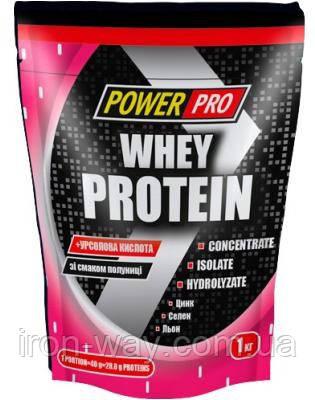 PowerPro Whey Protein 2000g (Банан-Земленика)