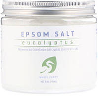 White Egret Personal Care, Английская соль, эвкалипт, 454 г