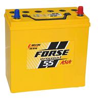 Автомобильные аккумуляторы FORSE JP 6CT-55A2 480A R MF (NS60) тонкая+переходник