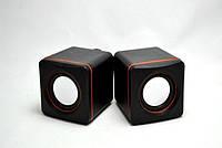 Акустические Компьютерные Колонки SPS D-02 USB, фото 1