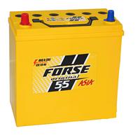 Автомобильные аккумуляторы FORSE JP 6CT-55A2 480A L MF (NS60) тонкая+переходник