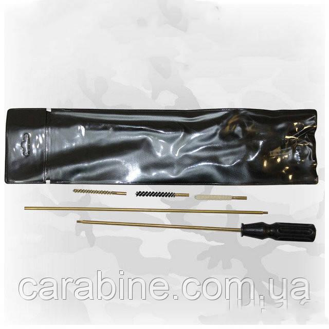 Набор для чистки пневматической винтовки кал. 4,5 мм (ПВХ) арт. 04001