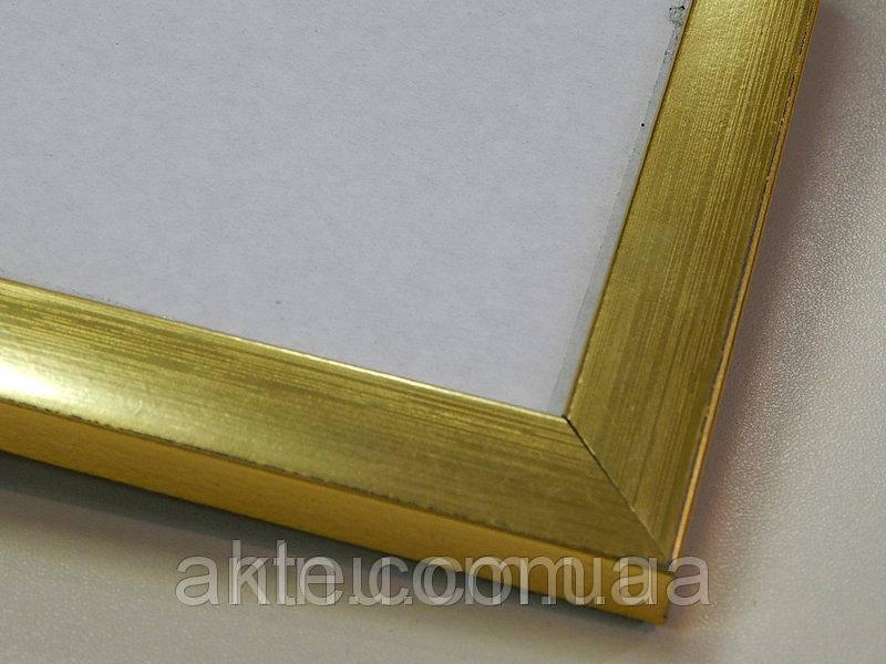 Рамка для картин 30*30 со стеклом, профиль 16 мм (код 1618-3030)