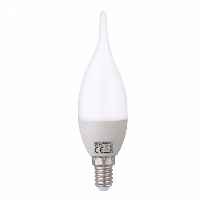 Копия Светодиодная лампа свеча на ветру LED Horoz CRAFT-6 4200к