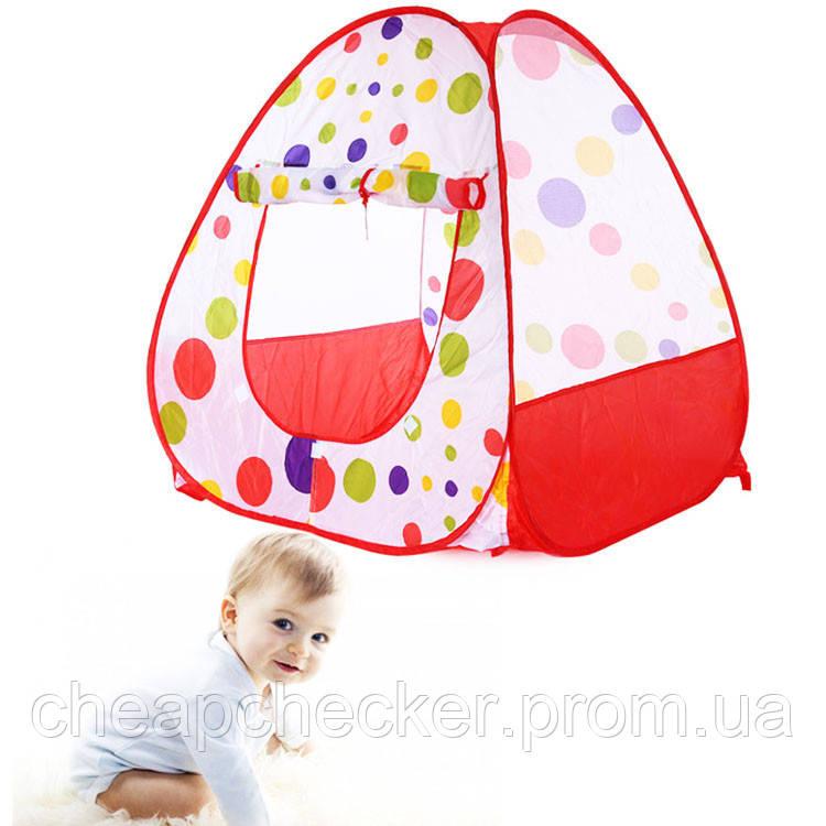 Безопасная Детская Игровая Палатка на Устойчивом Каркасе