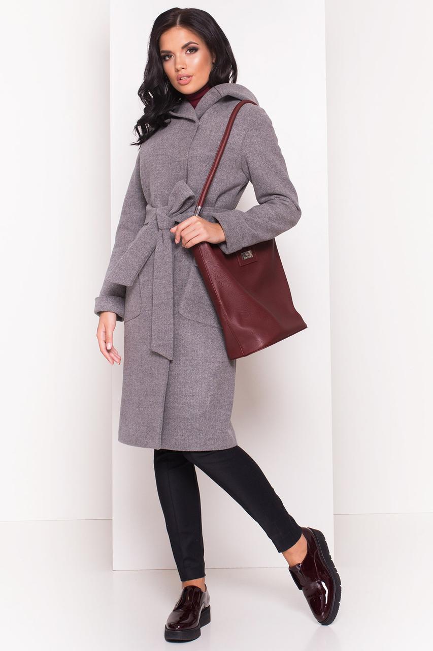 4d940f13a24 Кашемировое пальто с капюшоном