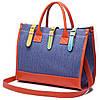 Дизайнерская сумка на ремне