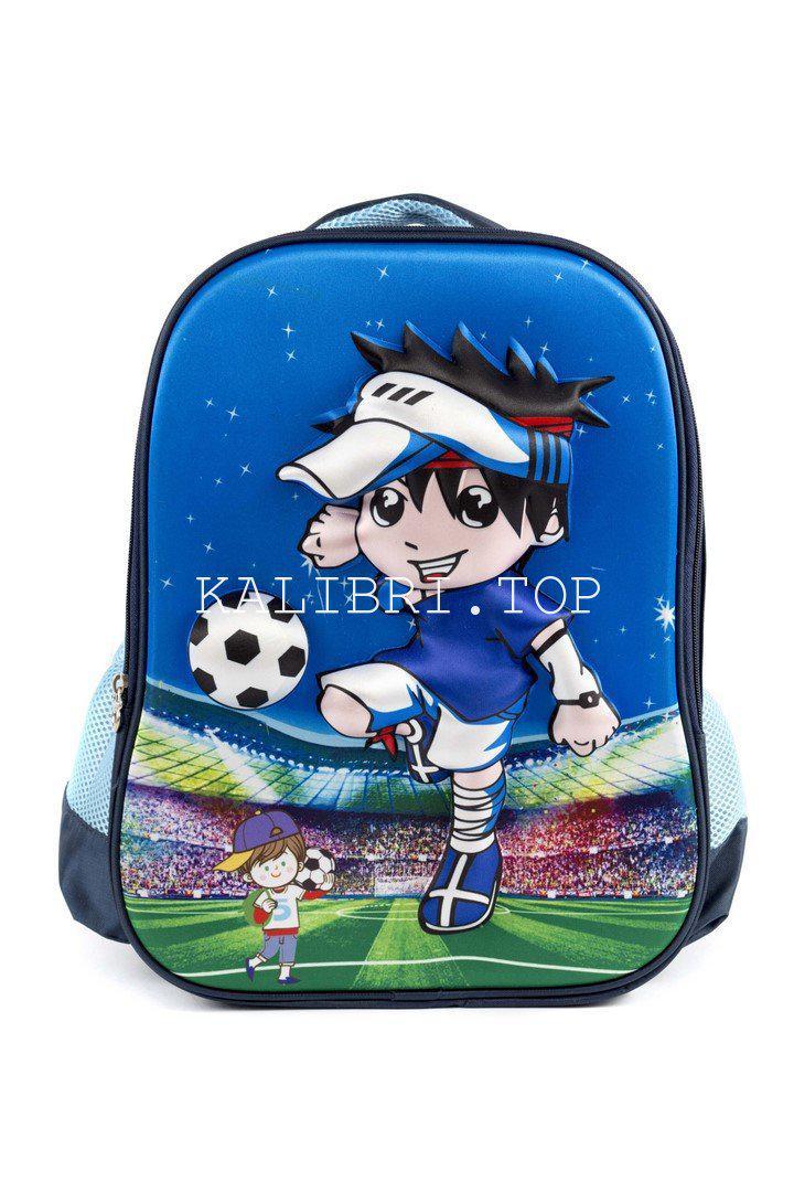 Рюкзак школьный Футбол 5949 синий