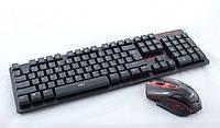 Беспроводная Компьютерная Клавиатура и Мышь Keyboard HK6500, фото 1