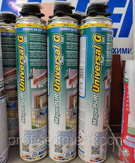 Однокомпонентна розширюється поліуретанова монтажна піна Mapei MapePUR Універсальний Foam М/750ml,Харків