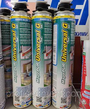Однокомпонентна розширюється поліуретанова монтажна піна Mapei MapePUR Універсальний Foam М/750ml,Харків, фото 2