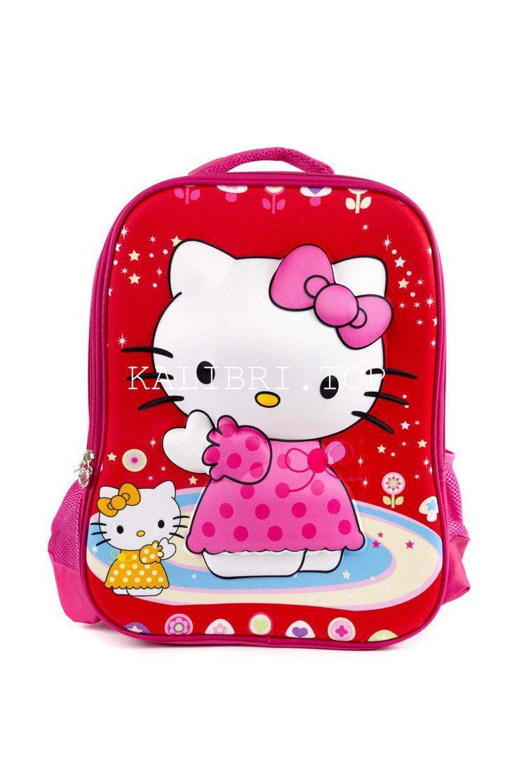 Рюкзак школьный Китти 5960 красный