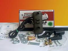 Электрический подогреватель двигателя Атлант 2 кВт (с насосом)