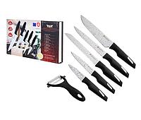 Набор Ножей 5шт+нож для чистки овощей, к/у