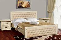 Кровать  с мягким изголовьем Фридом