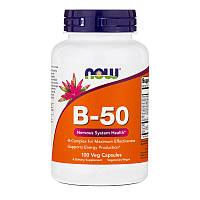 Витамины B-50 100 капсул до 04/20года