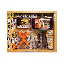 Игровой набор для анимационного творчества STIKBOT S1 СТУДИЯ (2 экскл. фигурки, штатив)