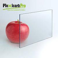 Монолитный поликарбонат Plexicarb Pro, прозрачный, 3 мм
