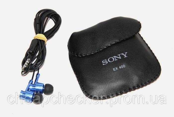 Вакуумные Наушники В Стиле Sony EX-400 с Микрофоном am
