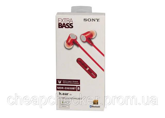 Вакуумные Наушники В Стиле Sony MDR-EX650BT с Микрофоном Extra Bass Bluetooth am