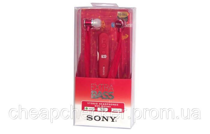 Вакуумные Наушники В Стиле Sony MDR-EX850BT с Микрофоном Extra Bass Bluetooth am, фото 1