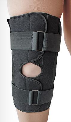 Бандаж для коленного сустава неопреновый на металических шарнирах