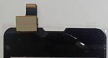 Сенсор (тачскрін) для Prestigio MultiPhone 3350 Duo, Explay A351 чорний, фото 3