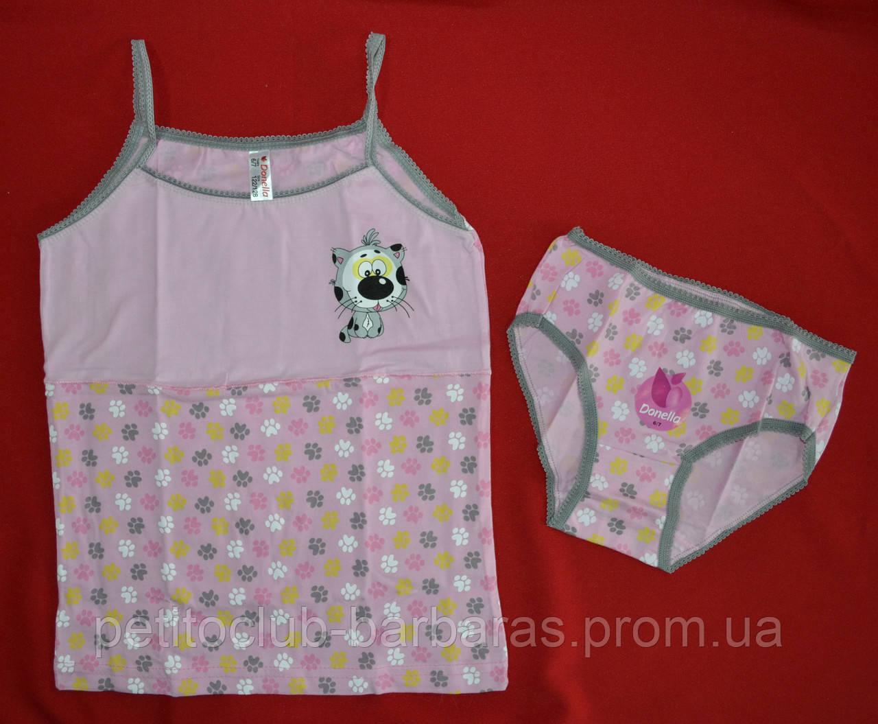 Комплект нижнего белья для девочки Котенок роз (Donella, Турция)