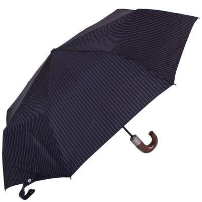 Зонт мужской автомат FULTON (ФУЛТОН) FULG818-City-Stripe-Navy