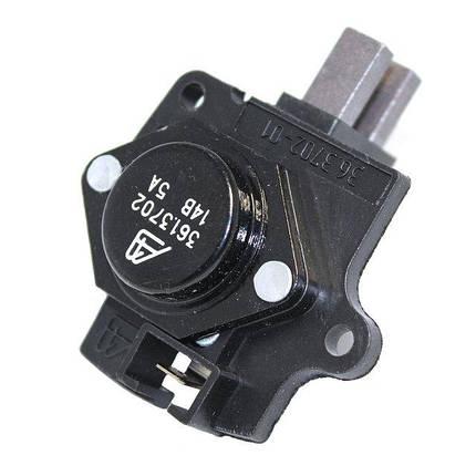 Интегральный регулятор напряжения со щёточным узлом 361.3702-01 (ВАЗ-2108-099), фото 2
