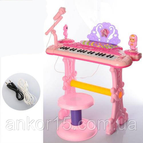 Пианино синтезатор 888-20, работает от сети, записывает.