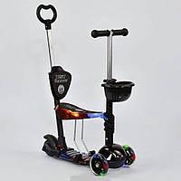 Самокат - беговел Best Scooter 5 в 1 24973 абстракция