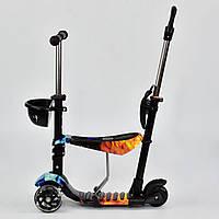 Самокат - беговел Best Scooter 5 в 1 24974 абстракция