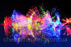 Внутренняя Светодиодная Гирлянда Кисточки Усики Новогодняя на Елку 40 LED Мульти Синий