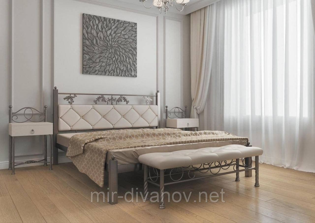 Ліжко нова металева Стелла